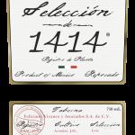 Etiqueta de ArteNOM 1414 (hi-res PNG)