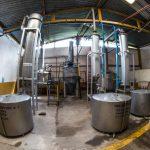 Área de trabajo en la Destiladora Refugio (hi-res JPEG)